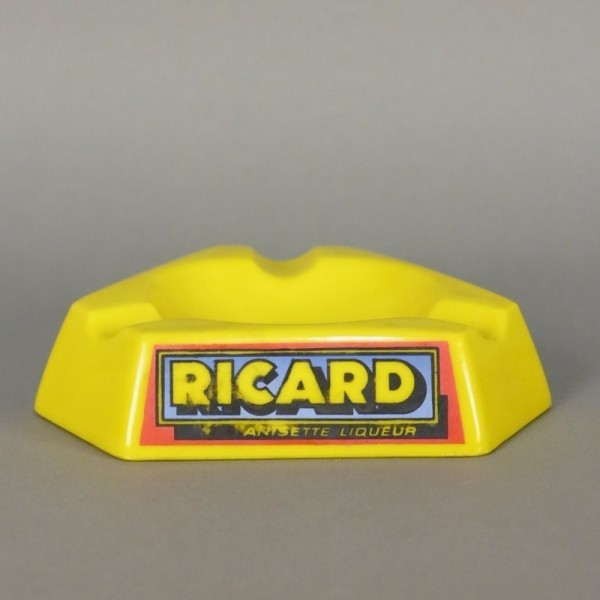 Glass Ashtray Ricard....