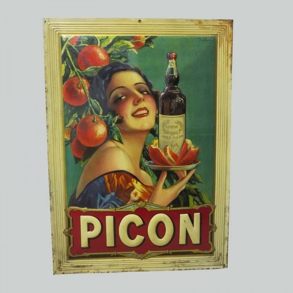 Advertising sign Picon....