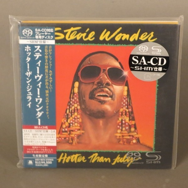 Stevie Wonder - Hotter than...