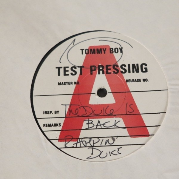 Tommy Boy - Test Pressing....
