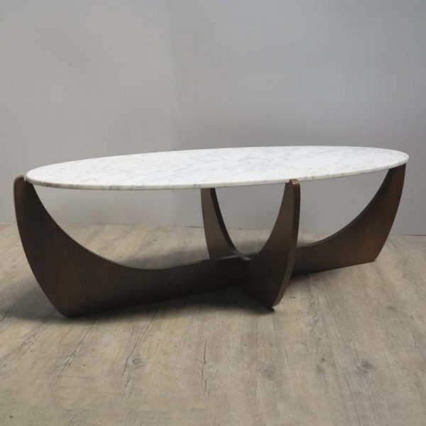 Design table with oval...