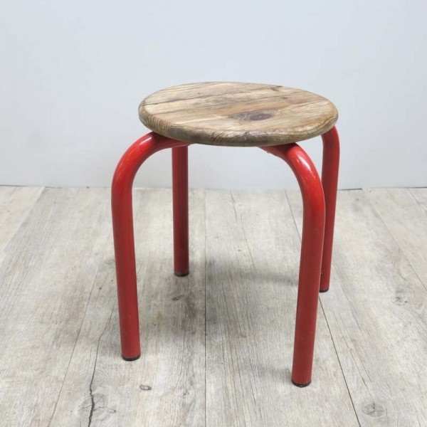 Children stool of metal and...