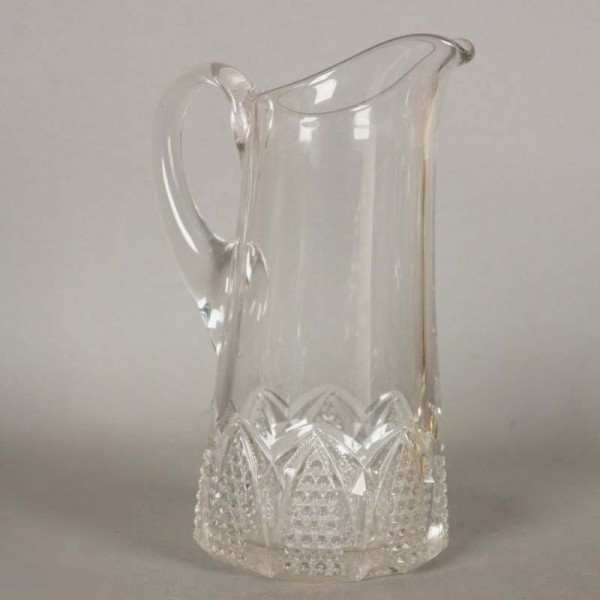Polished crystal jug. 1950...