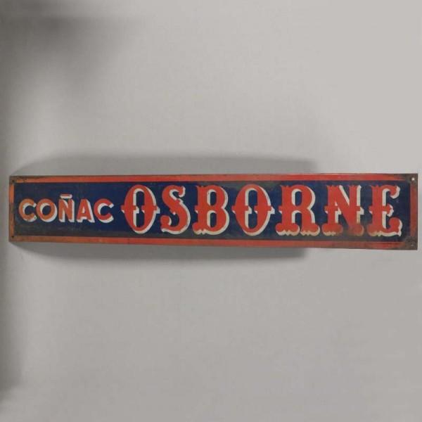 Cogñac Osborne. Advertising...