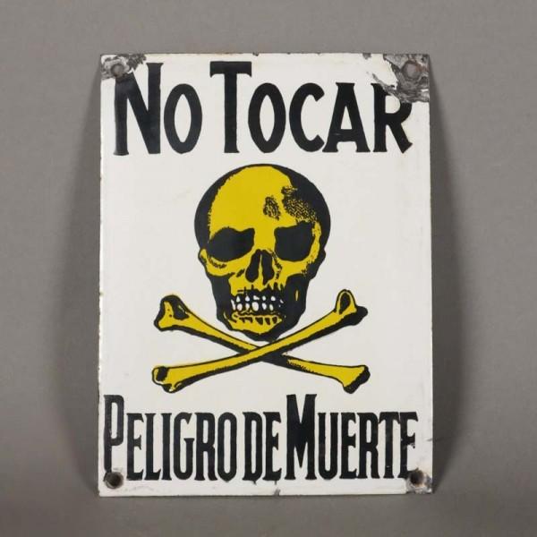 Emailschild. No Tocar -...