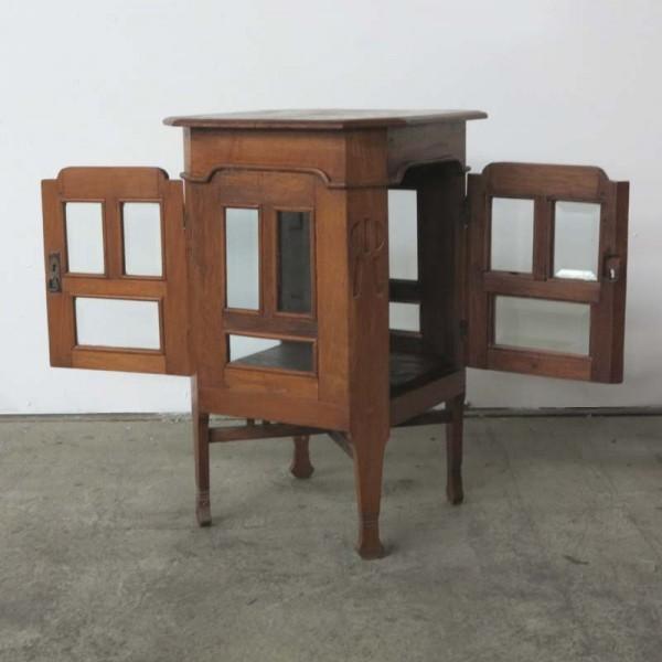 Art Nouveau tea table with...