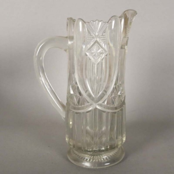 Art Nouveau pressed glass...