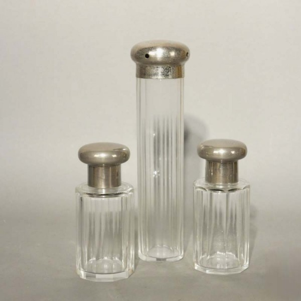 Art Nouveau perfume glass...