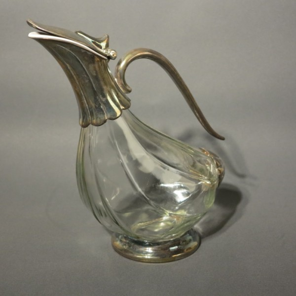 Vintage wine decanter made...