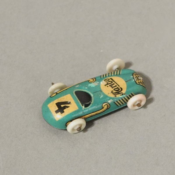 Haribo tin toy racing car....