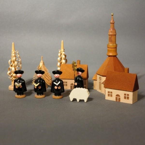 Erzgebirge figures with...