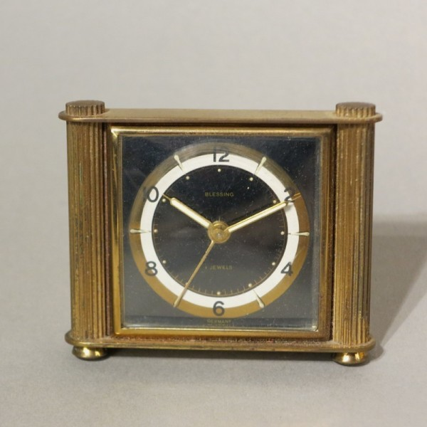 Art Deco clock by Blessing...