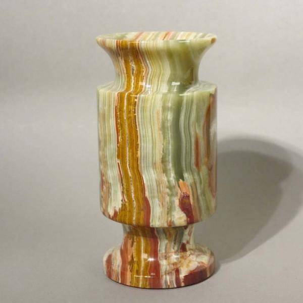 Mehrfarbige Alabaster Vase....