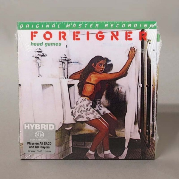 Foreigner ‎– Head Games....