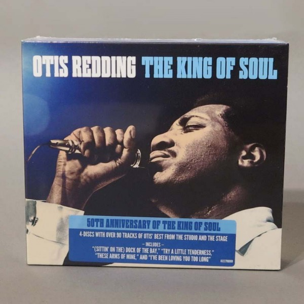 Otis Redding ‎– The King Of...
