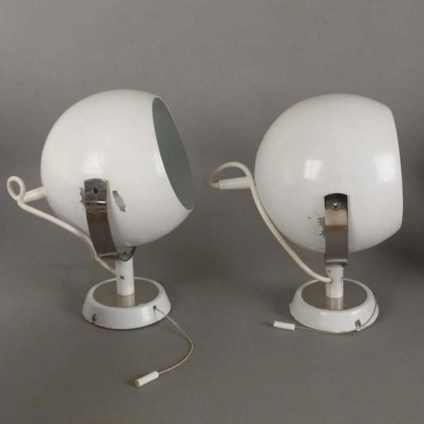 Zwei bewegliche Wandlampen...