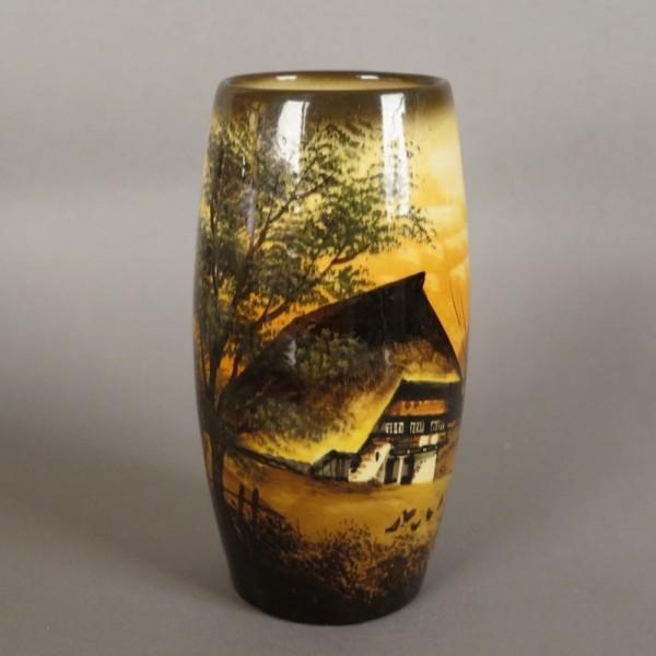 Art Nouveau ceramic vase...