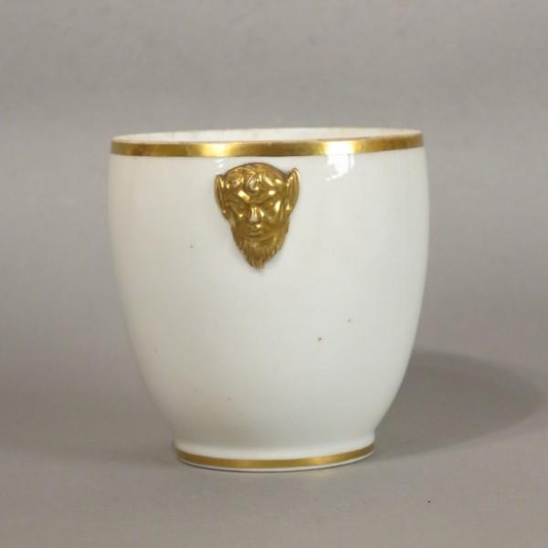 Biedermeier porcelain cup...