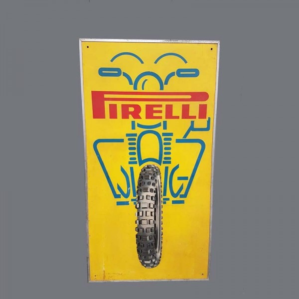 Pirelli Reklametafel 1950 -...