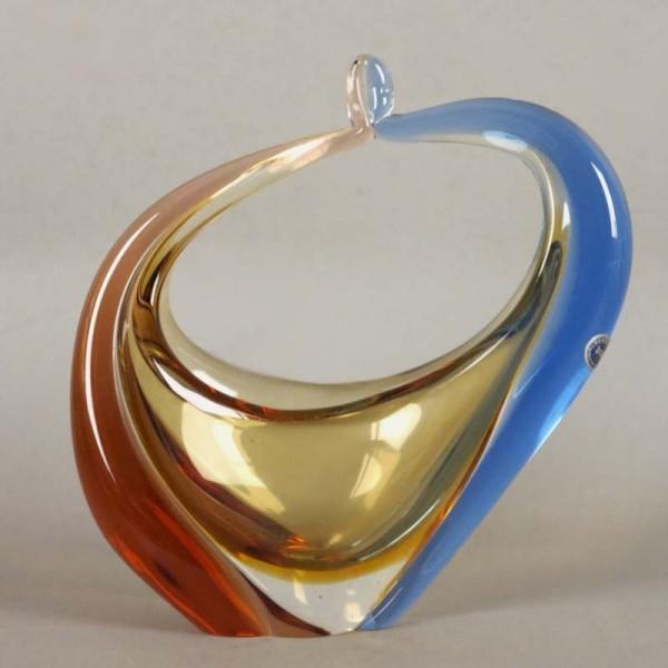Bowl de cristal Bohemia de...