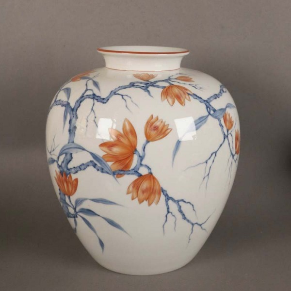 Porcelain vase by Reuter...