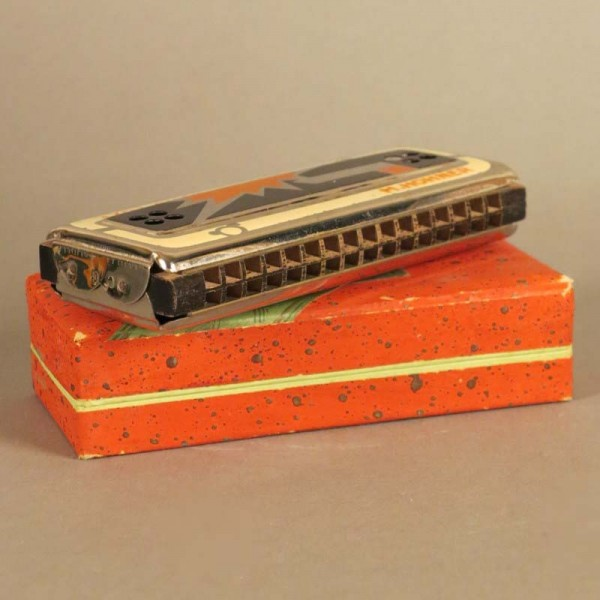 Antique Harmonica Hohner...