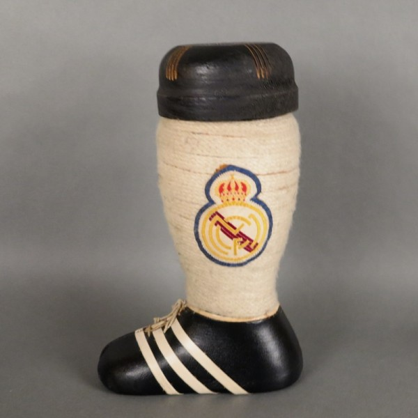 Real Madrid. Brandy bottle...