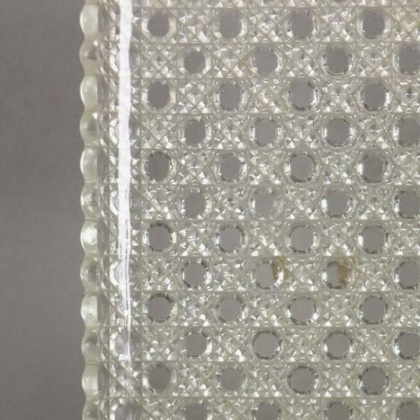 Fuente de cristal tallada....