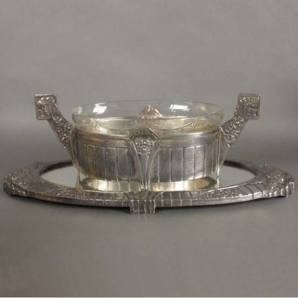 Silver plated Art Nouveau...