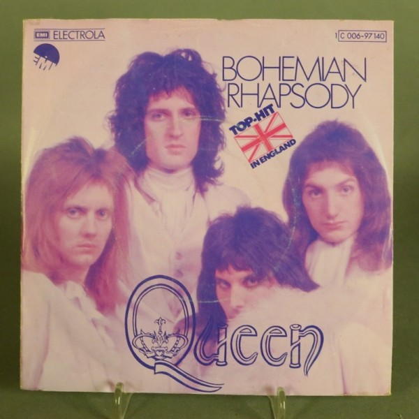 Single. Queen - Bohemian...