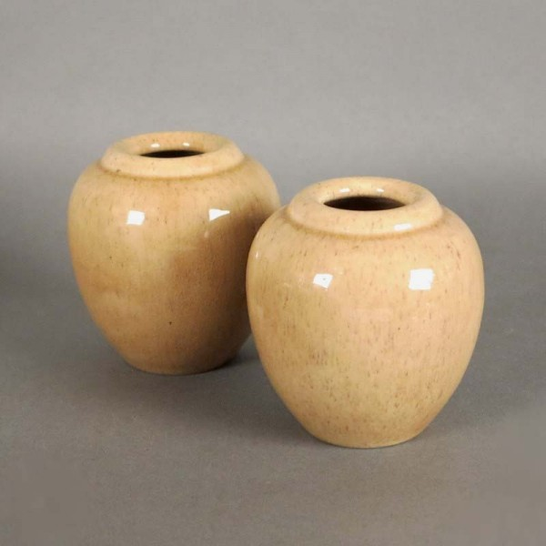 Two ceramic vases from the...