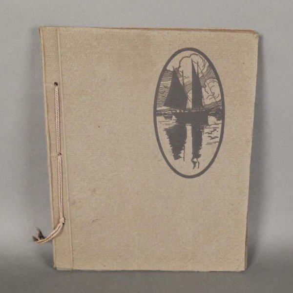 Art Nouveau photo album,...