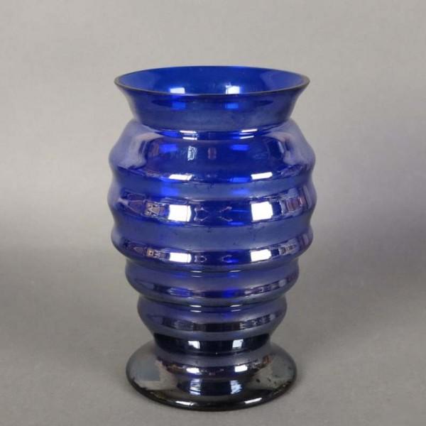 Art Nouveau glass vase by...