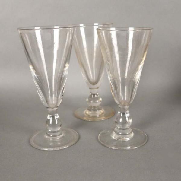 Tres Art Nouveau vasos de...