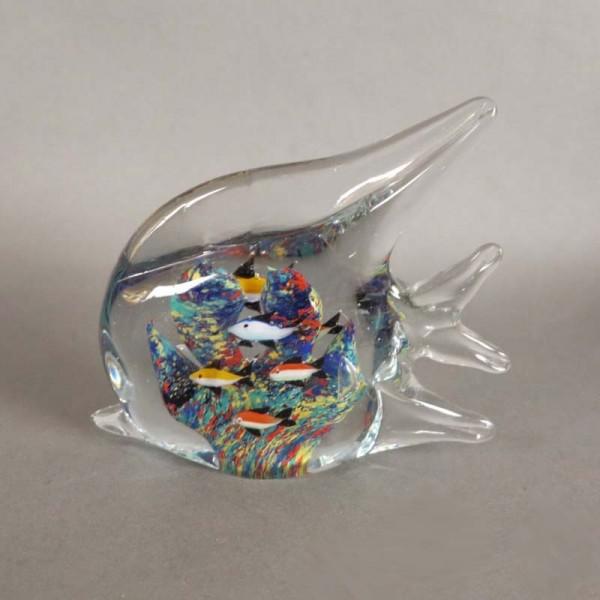 Murano Glas Briefbeschwerer...