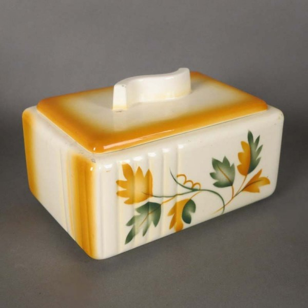 Art Deco cermaic box with...