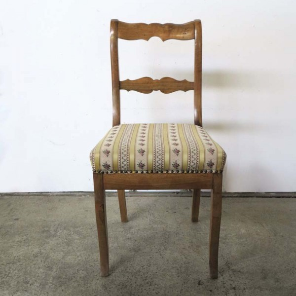 Biedermeier chair with...