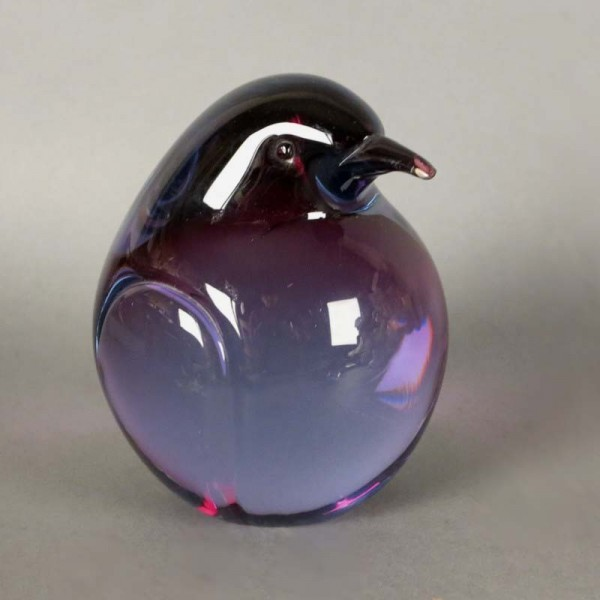 Murano Glas Pinguin - Kiwi...