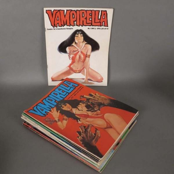 Comics Vampirella No.: 1 - 8