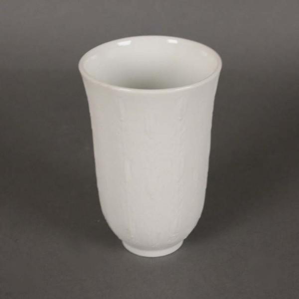 White porcelain vase from...