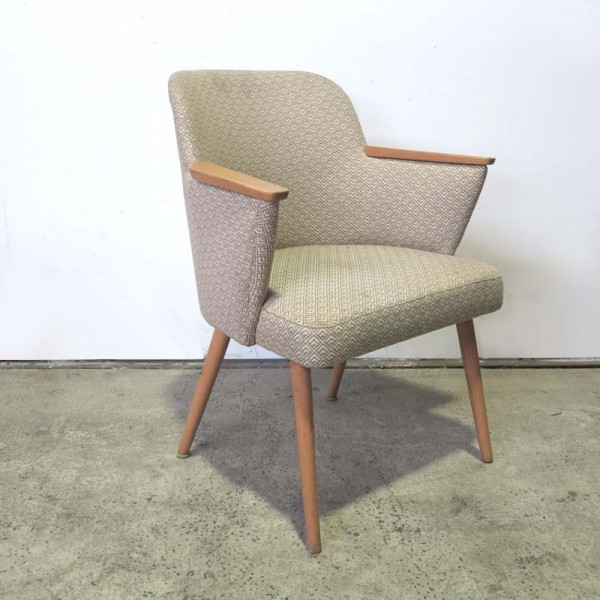 Vintage cocktail chair with...