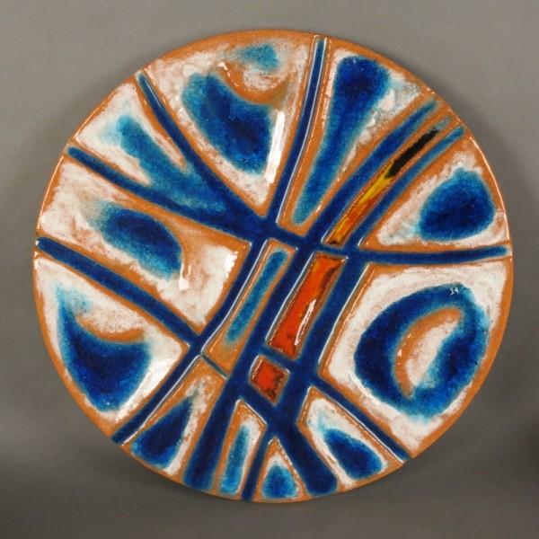 Karlsruhe Majolica ceramic...