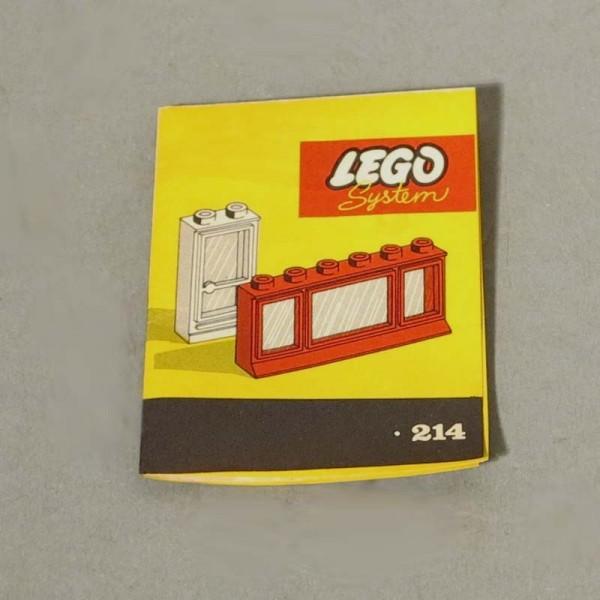 Selten. Lego Bauplan. 1958...