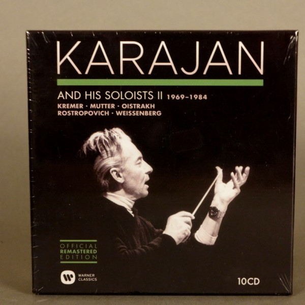KARAJAN AND HIS SOLOISTS II...