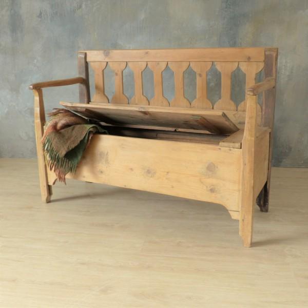 Art Nouveau bench with...