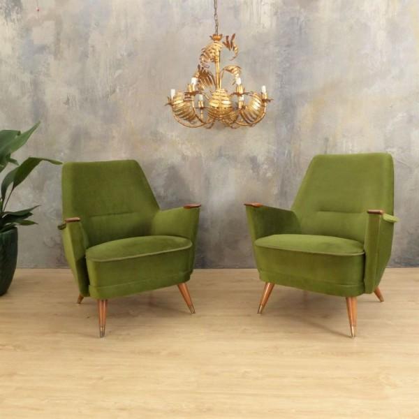 Paar grüne Vintage...