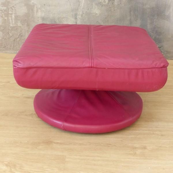 Pink vintage stool. 1970 -...