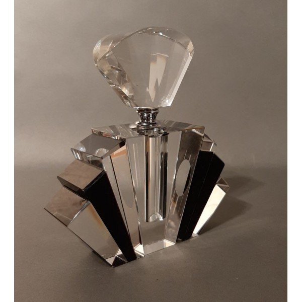 Art Deco glass perfume...