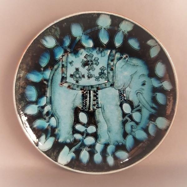 Keramik Wandteller der...