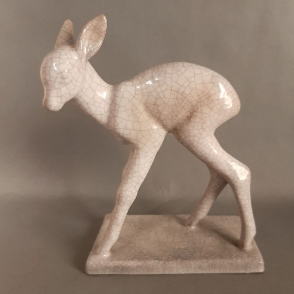 Ceramic deer from Karlsruhe...
